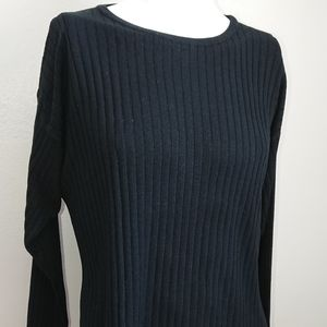 """Express tricot M long tunic chest 46"""" length 30"""""""